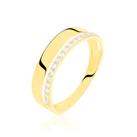 Damenring Gold 375 Zirkonia - Kategorie Damen | Oro Vivo