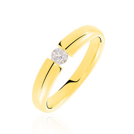 Spannring Gold 585 Diamant 0,2ct -  Damen | Oro Vivo