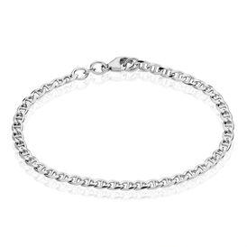 Damenarmband Panzerstegkette Silber 925  - Armketten Damen | Oro Vivo