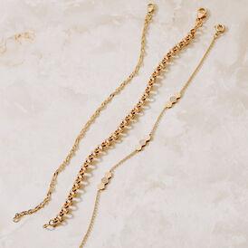 Damenarmband Silber 925 Vergoldet Zirkonia - Armbänder Damen   Oro Vivo