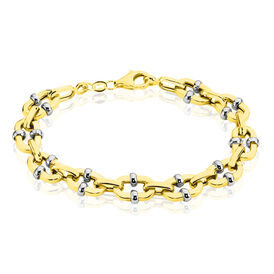 Damenarmband Gold 375 Bicolor  -  Damen | Oro Vivo