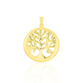 Anhänger Gold 375 Lebensbaum - Schmuckanhänger Damen   Oro Vivo