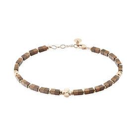 Herrenarmband Silber 925 Rosé Vergoldet  - Armbänder Herren   Oro Vivo