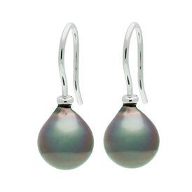 Damen Perlenohrringe Weißgold 585 Tahitiperlen - Ohrhänger Damen | Oro Vivo