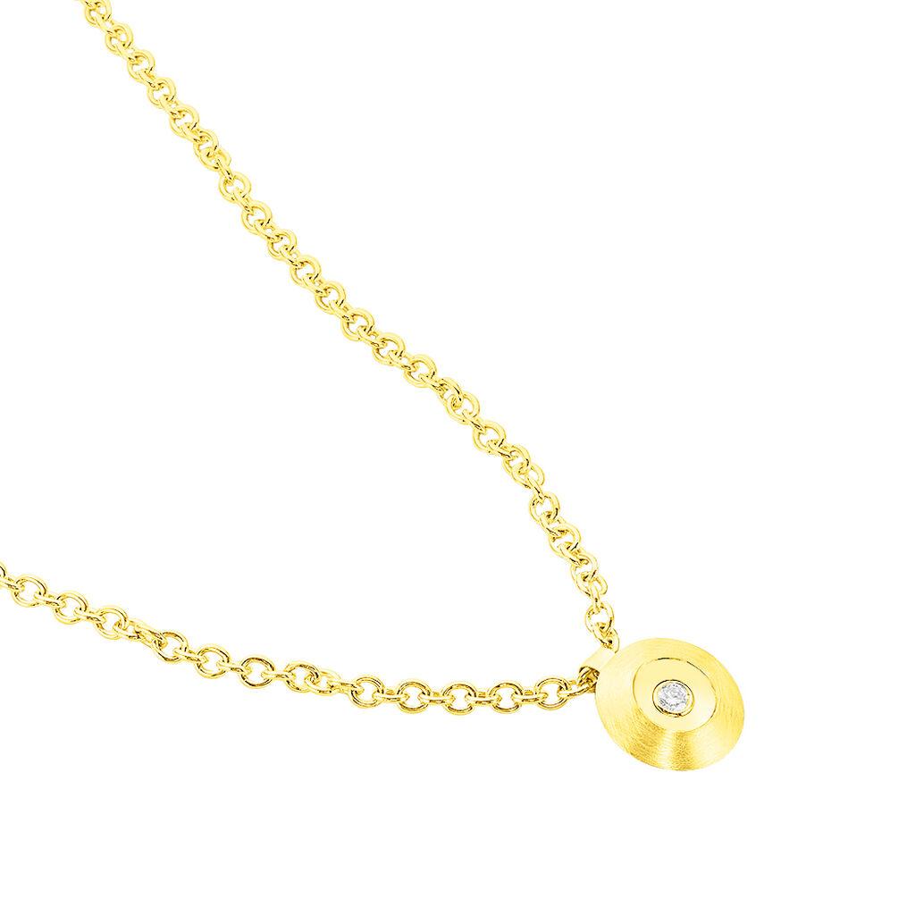 Damen Halskette Gold 375 Diamant Heiko Schrem - Ketten mit Anhänger Damen | Oro Vivo