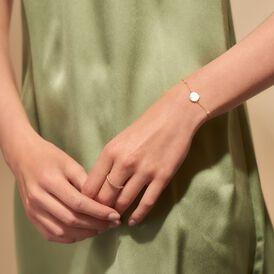 Damenarmband Gold 375 Perlmutt  -  Damen | Oro Vivo
