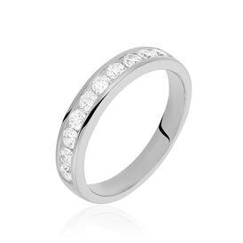 Damenring Silber 925 Zirkonia -  Damen | Oro Vivo