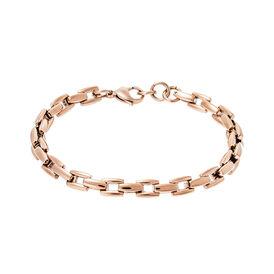 Damenarmband Edelstahl Rosé Vergoldet  - Armketten Damen | Oro Vivo