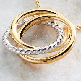 Damen Halskette Vergoldet Bicolor  -  Damen | Oro Vivo
