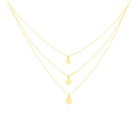 Damen Halskette Gold 375  - Ketten ohne Stein Damen | Oro Vivo