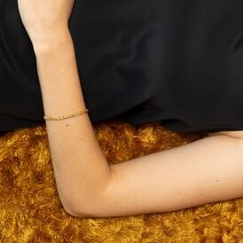 Damenarmband Spigakette Gold 375  - Armketten Damen | Oro Vivo