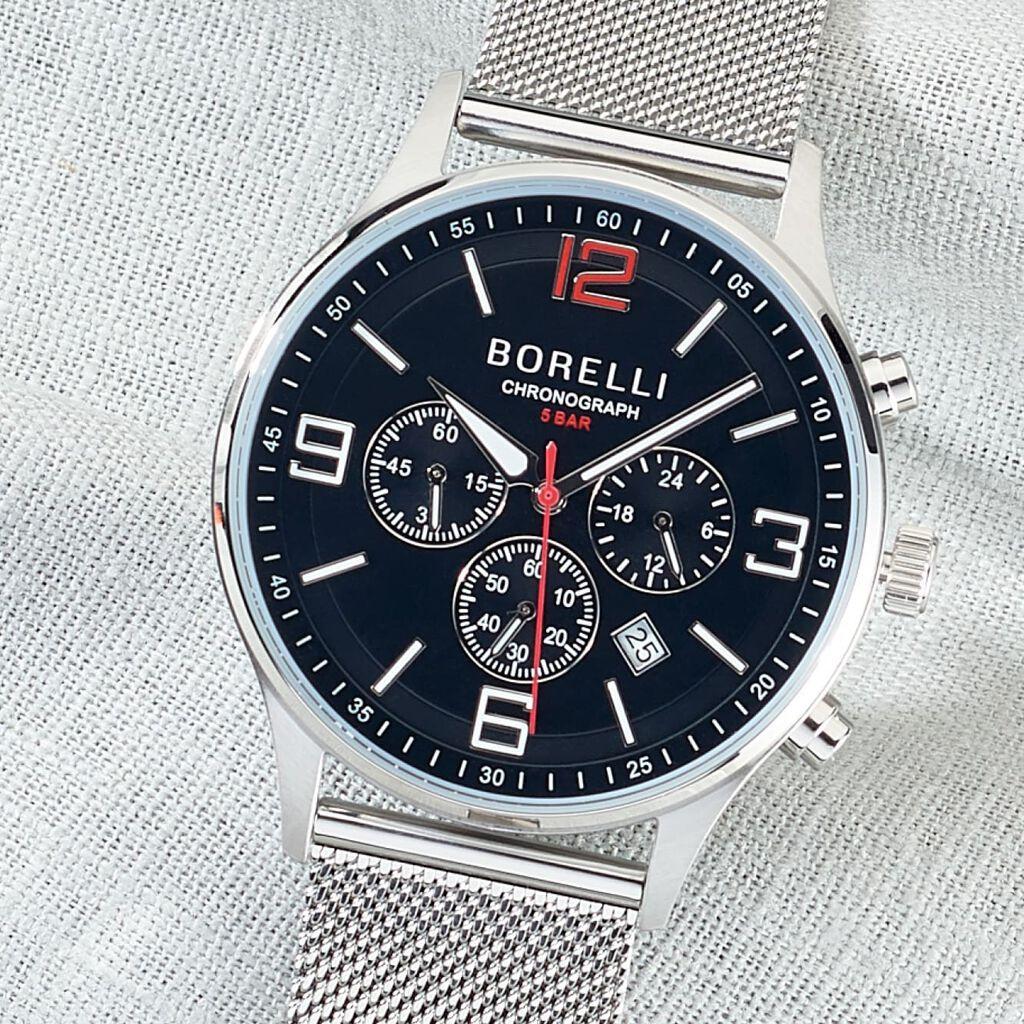 Borelli Herrenuhr Havanna Ss16802g02 Quarz - Analoguhren Herren   Oro Vivo