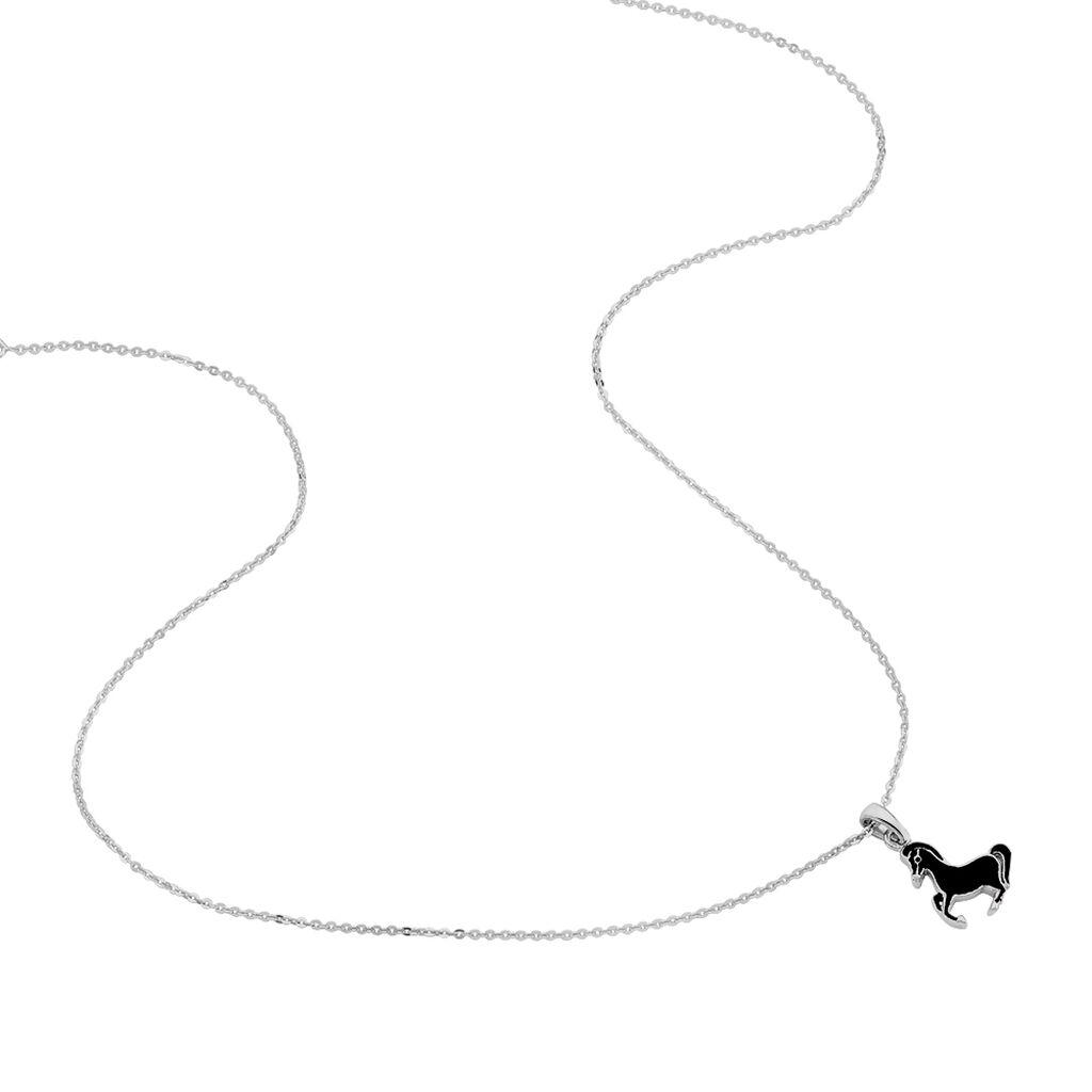 Kinder Halskette Silber 925 Pferd - Ketten mit Anhänger Kinder | Oro Vivo