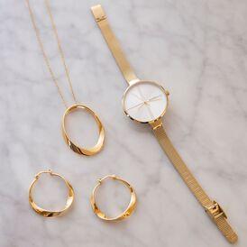 Damen Halskette Silber 925 Vergoldet  - Ketten mit Anhänger Damen   Oro Vivo