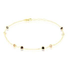 Damenarmband Gold 375 Zirkonia -  Damen | Oro Vivo