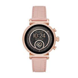 Michael Kors Damenuhr Sofie Mkt5068 Smartwatch -  Damen   Oro Vivo