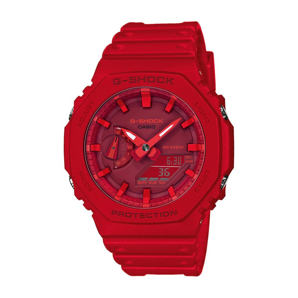Casio G-shock Herrenuhr Ga-2100-4aer Digital - Analog-Digital Uhren Herren | Oro Vivo