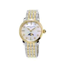 Frederique Constant Damenuhr Slimline Ladies Quarz - Black Friday Damen | Oro Vivo
