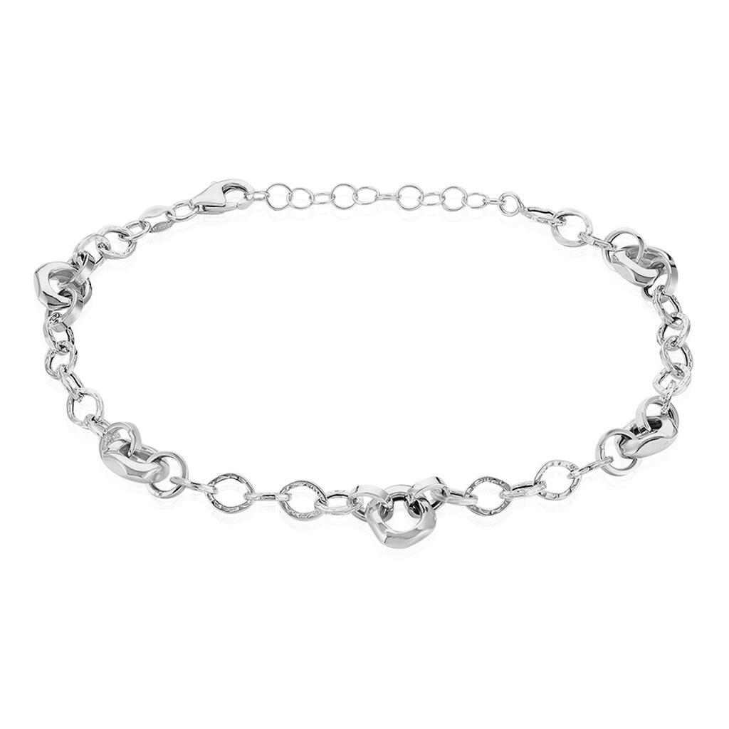Damenarmband Weißgold 375  - Armketten Damen | Oro Vivo