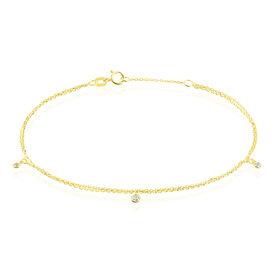 Damenarmband Gold 375 Zirkonia  - Armbänder Damen | Oro Vivo