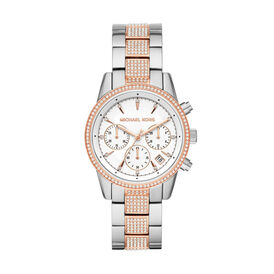 Michael Kors Damenuhr Ritz Mk6651 Quarz - Analoguhren Damen | Oro Vivo