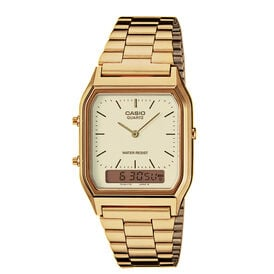 Casio Collection Unisexuhr Vintage 010-02158-17 -  Unisexe | Oro Vivo
