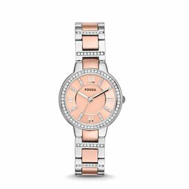 Fossil Damenuhr Virginia Es3405 Quarz -  Damen | Oro Vivo