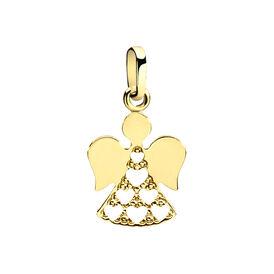 Kinderanhänger Gold 375 Engel - Schmuckanhänger Kinder | Oro Vivo