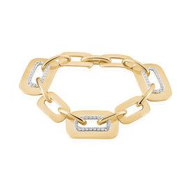Damenarmband Vergoldet Zirkonia - Armbänder  | Oro Vivo