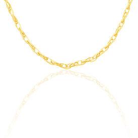 Damen Figarokette Gold 585 45cm - Ketten ohne Anhänger Damen | Oro Vivo
