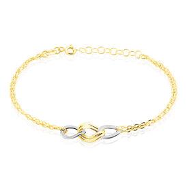 Damenarmband Gold 375 Bicolor  -  Damen | Oro Vivo