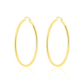 Damen Creolen Gold 585 40mm - Creolen Damen | Oro Vivo