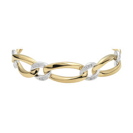 Damenarmband Vergoldet Bicolor Zirkonia - Armbänder Damen | Oro Vivo