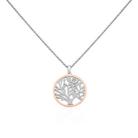 Damen Halskette Edelstahl Vergoldet Lebensbaum - Black Friday Damen | Oro Vivo