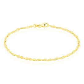 Damenarmband Singapurkette Gold 375 - Armketten Damen | Oro Vivo