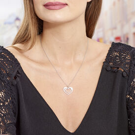 Damen Halskette Silber 925 Herz - Herzketten Damen | Oro Vivo
