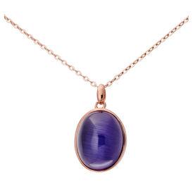 Damen Halskette Silber 925 Rosé Vergoldet -  Damen | Oro Vivo