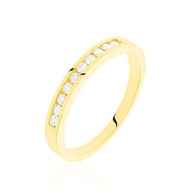 Damenring Gold 585 Diamanten 0,25ct - Black Friday Damen | Oro Vivo