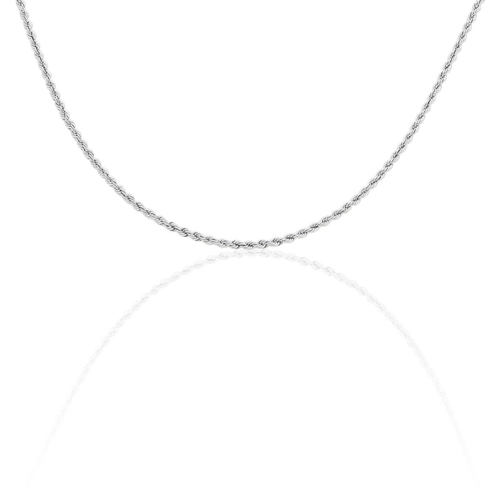 Damen Kordelkette Silber 925 42cm - Ketten ohne Anhänger Damen | Oro Vivo