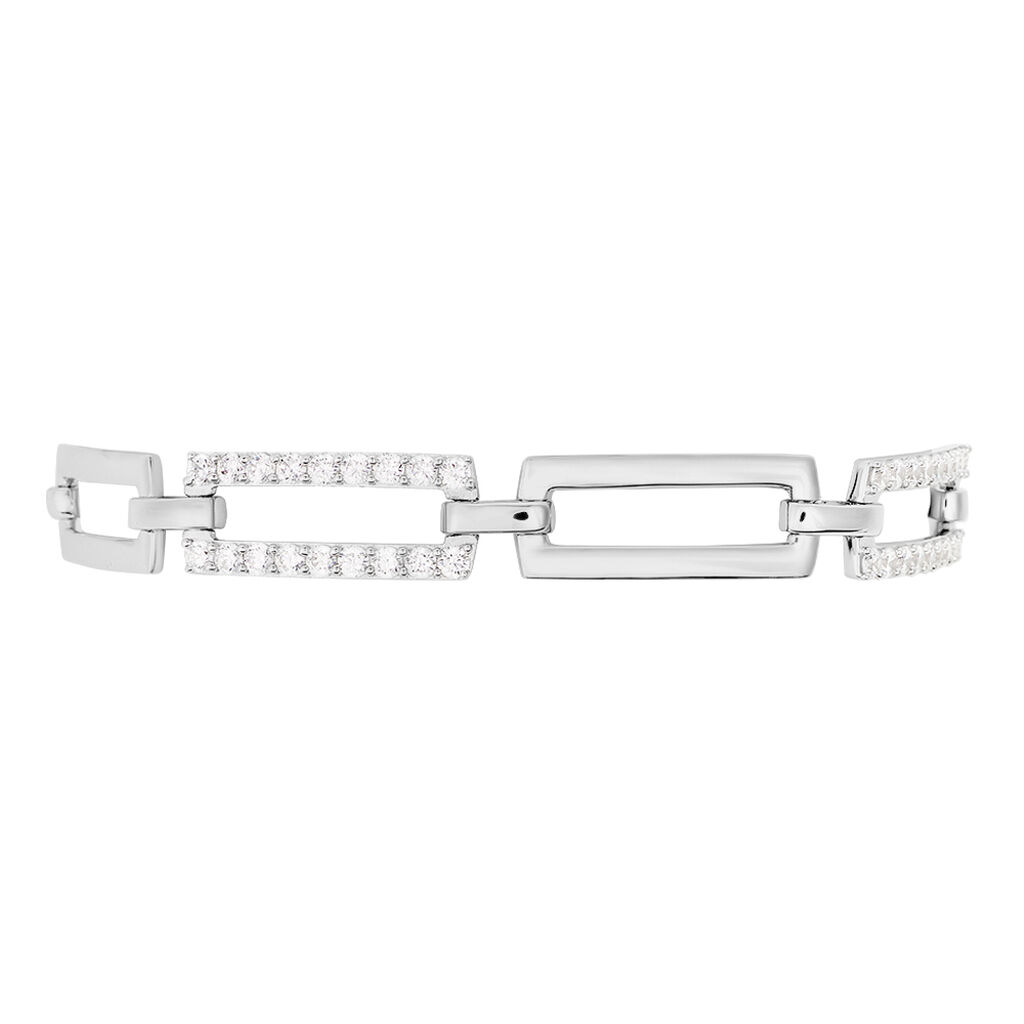 Damenarmband Silber 925 Zirkonia - Armbänder Damen   Oro Vivo