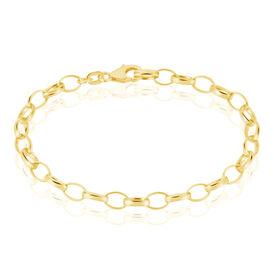 Damenarmband Erbskette Silber 925 Vergoldet  -  Damen | Oro Vivo
