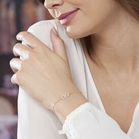 Damenarmband Gold 375 Zirkonia Infinity -  Damen | Oro Vivo
