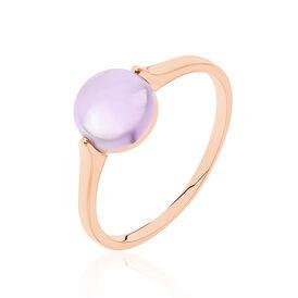 Damenring Roségold 375 Amethyst - Ringe mit Stein  | Oro Vivo