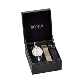 Borelli Herrenuhr Uhrenset Sn16401g02 Quarz - Analoguhren Herren | Oro Vivo
