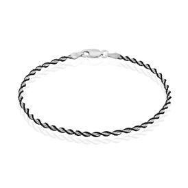 Damenarmband Kordelkette Silber 925  -  Damen   Oro Vivo