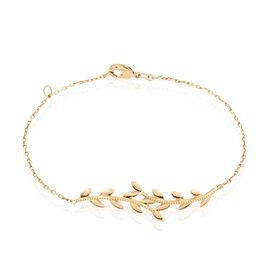 Damenarmband Vergoldet Blätter  - Armbänder Damen | Oro Vivo