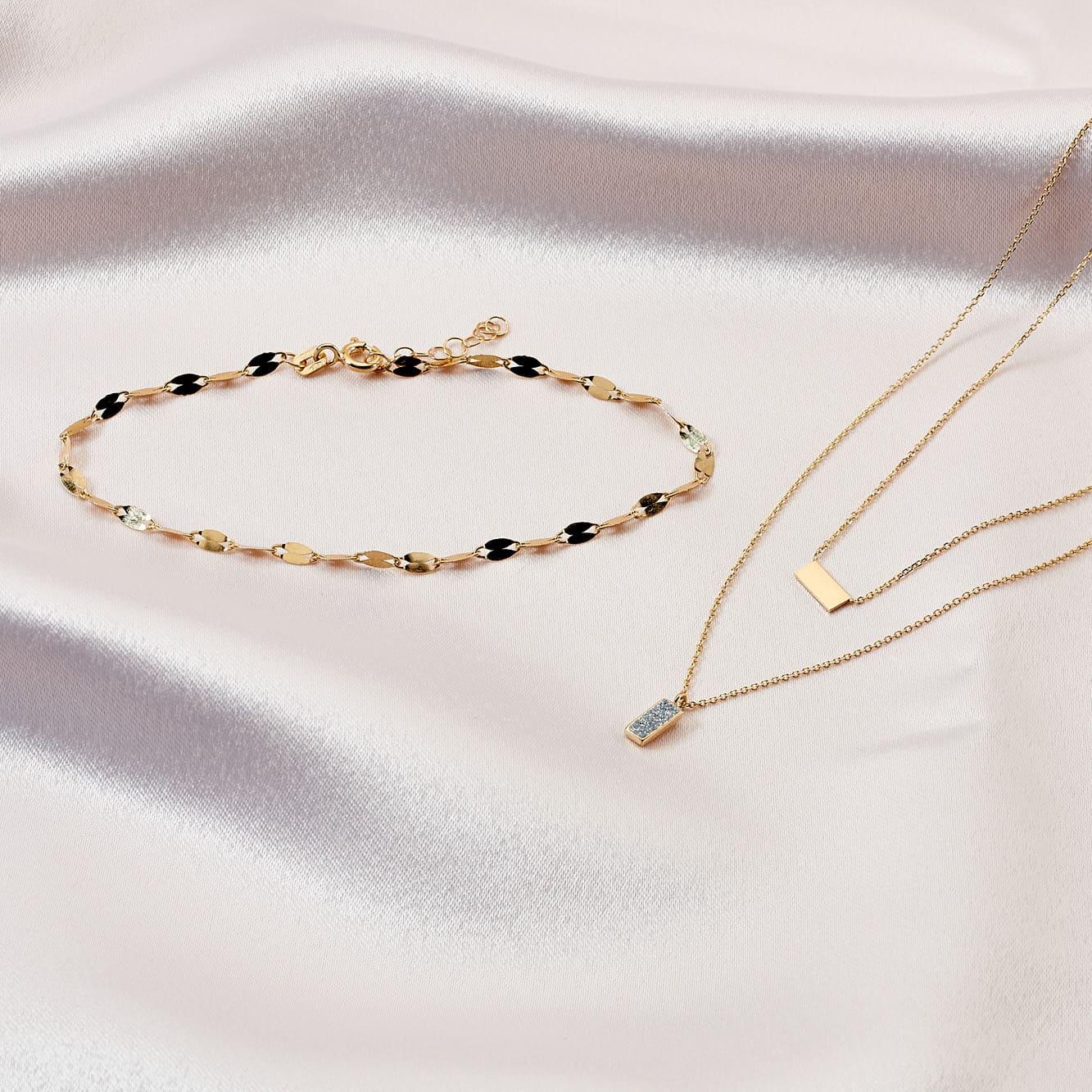 Damenarmband Luminakette Gold 375
